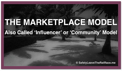 Marketplace Influencer Community Model