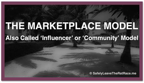 Marketplace Influencer Community Model