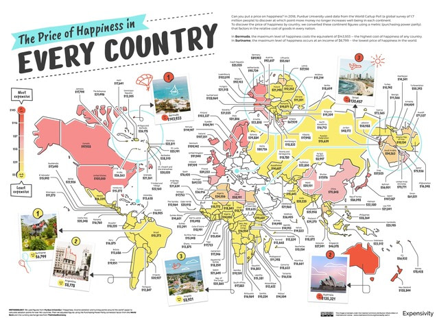 Price-of-Happiness-in-Every-Country_Map-World